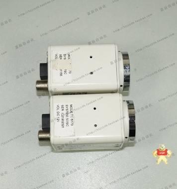"""二手 TC6173 彩色工业相机 监控相机 1/3""""CCD DC12V C口"""
