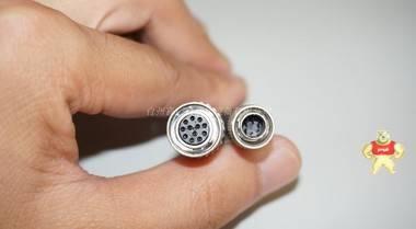 日本CANARE CABLE 12芯母头转广濑HRS 6芯公头 工业相机连接线 5M