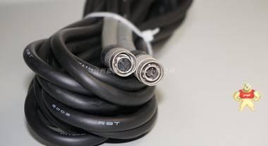 原装HITACHI 6芯公母对接工业相机电源线 SONY、TELI、JAI通用 5M