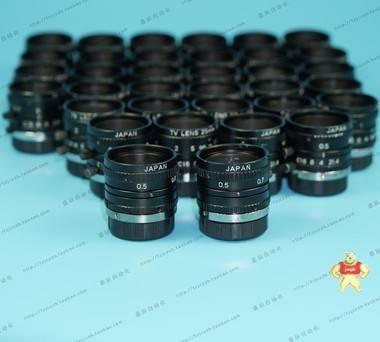 U-TRON MV2514 2/3工业定焦镜头 TV LENS 25MM 1:1.4 成色可以