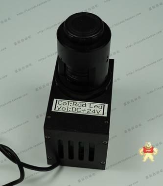 TV LENS 35MM 1:1.9 CCTV镜头加DC24V 红色LED外置同轴照明光源
