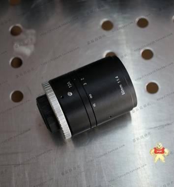 VST SV-5014H 2/3英寸 高分辨率CCTV镜头 50mm定焦工业镜头 9成新