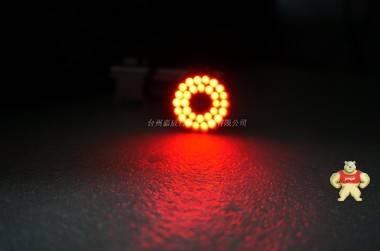 原装MORITEX YFDRL-VR16 DC12V 红色LED环形光源 视觉检测光源