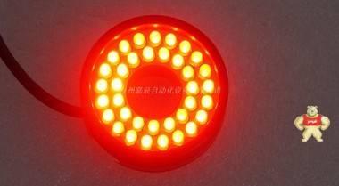 TMS红色LED环形光源 DC24V 视觉检测光源 LSW-00-040-2-R-24V-C
