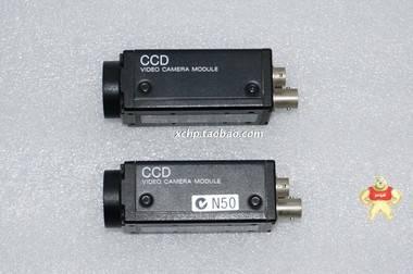 "SONY XC-75 1/2"" CCD 隔行扫描 黑白工业相机 8成新"