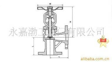厂家直销德标直角式波纹管截止阀(图) 波纹管截止阀 截止阀dn50