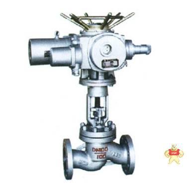 J941H-16C电动截止阀 电动法兰截止阀 铸钢截止阀厂家