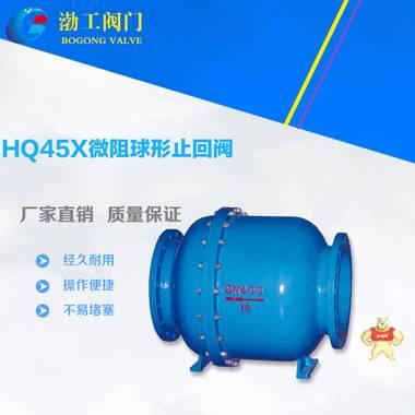 厂家专业生产优质 HQ45X微阻球形止回阀 低价止回阀 品质保证