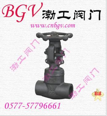 厂家直销PJ61H自密封锻钢截止阀(图)低价批发质量优质