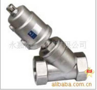厂家直销J641F-A气动角座阀(图) 角座阀 蒸汽角座阀