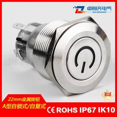 22mm自锁式自复式电源