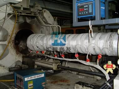 四川再生资源回收中心颗粒造粒机电磁加热器改造高效节能加热设备