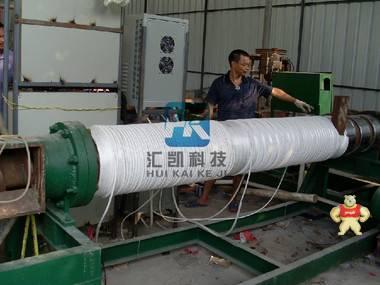 造粒机80kw电磁加热器安装流程