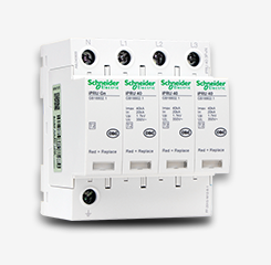 Schneider Electric/施耐德浪涌保护器iPRU 40 3P+N 避雷器